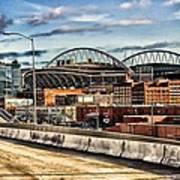 Century Link Field Seattle Washington Art Print