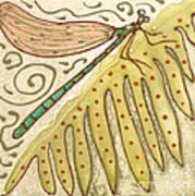 Ceramic Dragonfly Print by Anna Skaradzinska