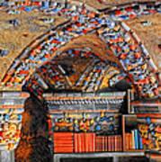 Ceramic Pillars Art Print