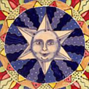 Ceramic Star Art Print by Anna Skaradzinska