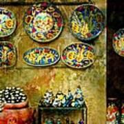 Ceramica Italiana Art Print