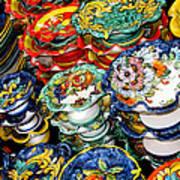 Ceramics Of Vietri Sul Mare  Art Print
