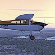 Cessna 185f   Art Print