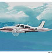 Cessna 310 Twin Engine Art Print