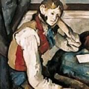 Cezanne, Paul 1839-1906. The Boy Art Print