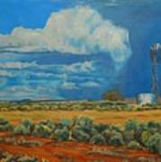 Chaco Storm Art Print