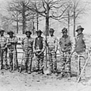 Chain Gang C. 1885 Art Print by Daniel Hagerman
