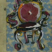 Chair Fetish '98 Art Print by Cathy Peterson