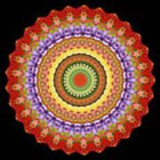 Chakra Spin Art Print