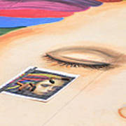 Chalk Event Eye Art Print