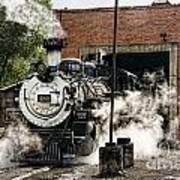 Chama Steam Art Print