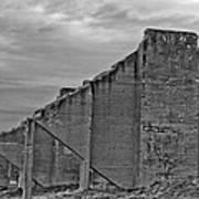 Chambers Bay Architectural Ruins II Art Print