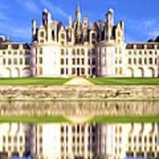 Chambord Castle Art Print