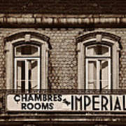 Chambres Imperial Lisbon Art Print