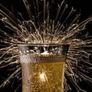 Champagne Celebration Art Print