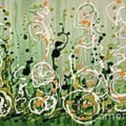 Champagne Symphony Art Print
