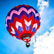 Champion Hot Air Balloon Art Print