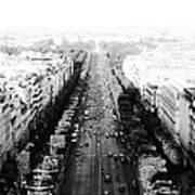 Champs Elysees - Paris Art Print