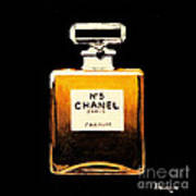 Chanel No. 5 Art Print