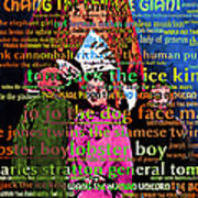 Chang The Chinese Giant - Human Carnival Sideshows And Other Oddities Of The World 20130626 Art Print