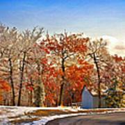 Change Of Seasons Art Print by Lois Bryan