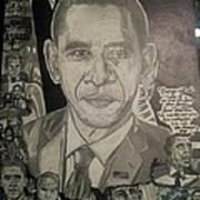 Change Yes We Can Art Print by Demetrius Washington