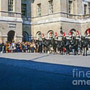 Changing Of The Horse Guard  Art Print