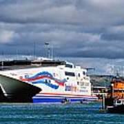 Channel Islands Ferry Art Print