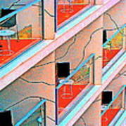 Channeling Mondrian  Art Print