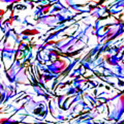 Chaotic Beauty 2011 Art Print