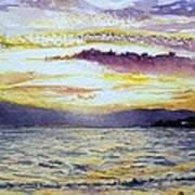 Chapala Sunset Art Print