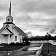 Chapel At Four Winds In Conway Arkansas Art Print