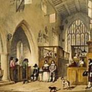 Chapel At Haddon Hall, Derbyshire Art Print