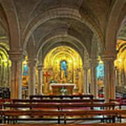 Chapel At Notre Dame Cathedral Verdun Art Print