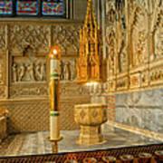 Chapel At Saint Patricks Cathedral Art Print
