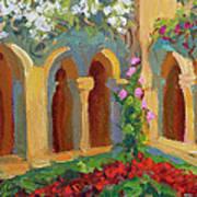 Chapel At St. Remy Art Print