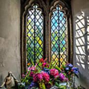 Chapel Flowers Art Print