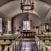 Chapel In Wales Art Print