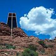 Chapel Of The Holy Cross In Sedona Art Print