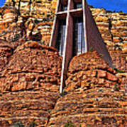 Chapel Of The Holy Cross  Sedona Arizona Art Print