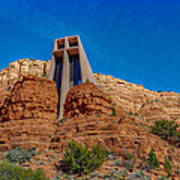 Chapel Of The Holy Cross Sedona Az Front Art Print