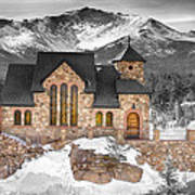 Chapel On The Rock Bwsc Art Print