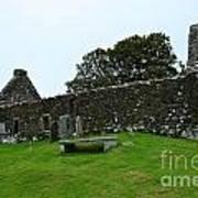 Chapel Ruins At Dunvegan Art Print