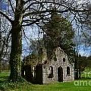 Chapel Ruins Art Print