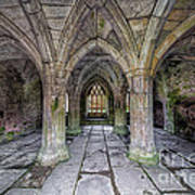 Chapter House Interior Print by Adrian Evans