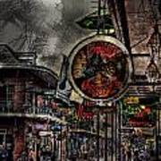 Characteristics Of New Orleans V5 Art Print
