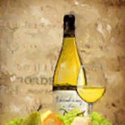 Chardonnay Iv Art Print