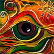 Charismatic Spirit Eye Art Print