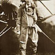 Charles A. Lindbergh And Spirit Of St. Louis May 12 1927 Art Print