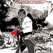 Charles Bronson Plays The Murderous Rodolfo Fierro In Viva  Rides 1968-2013 Art Print